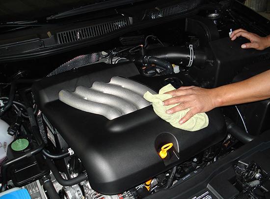 Как правильно мыть двигатель машины