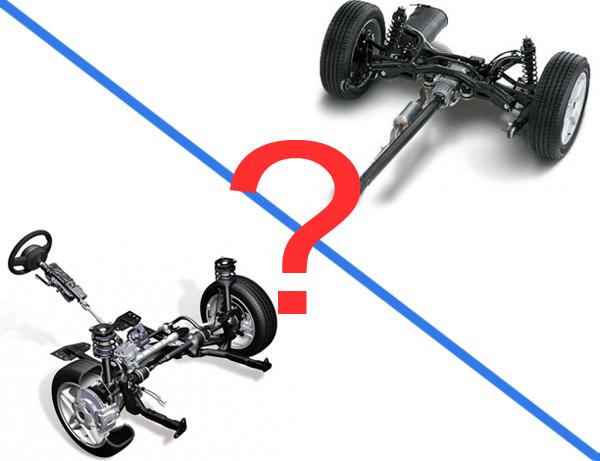 Какой привод выбрать лучше передний или задний