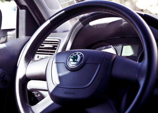 Пример оплетки на руль