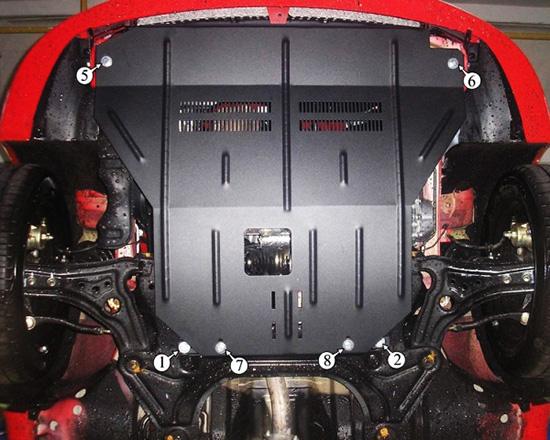 Как выбрать защиту картера двигателя