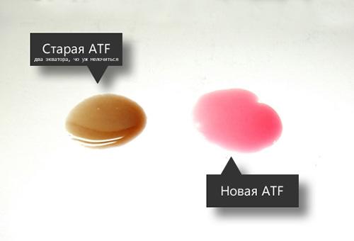 Проверка состояния масла в АКПП