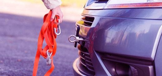 Буксировка авто на гибкой сцепке: правила, нюансы, тонкости...