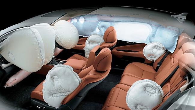 Подушки безопасности современного авто